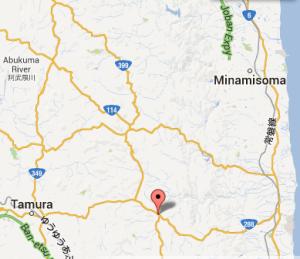 Miyakoji district, Tamura, Fukushima Prefecture