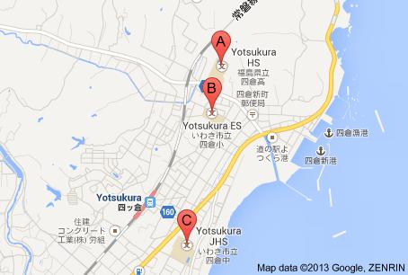 way to close to Daiichi NPP