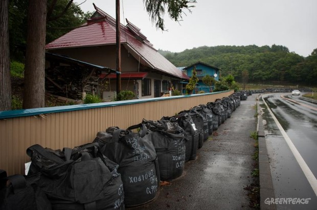 Evacuees Return to their Homes in Tamura City