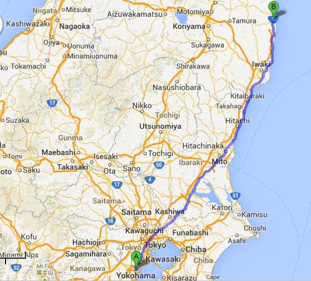 yokohama map to daiichi 2